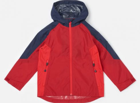 Joules Boys\' Dalton Waterproof Shell Jacket - Red - 4 Years - Rot(58975497)