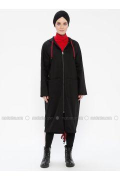 Black - Unlined - Topcoat - Meryem Acar(110330063)