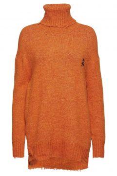 Summit Knit Rollkragenpullover Poloshirt Orange RAIINE(114150845)