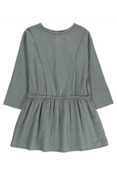 Kariertes Kleid Lurex Caroline(113866895)