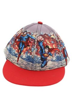 Koton Erkek Çocuk Süper-man Karakterli Kırmızı Şapka(113958822)