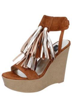 Sandales Islo sandales marron daim BZ518(115394001)