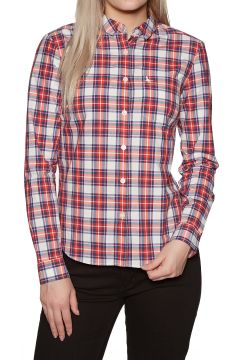 Chemise Femme Jack Wills Homefore Check - Red(111333047)