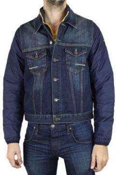 Veste Kebello Veste en jean H Bleu(127855139)
