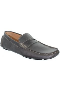 Chaussures Baxton Mocassins en cuir ref_bom37296-gris(88451697)