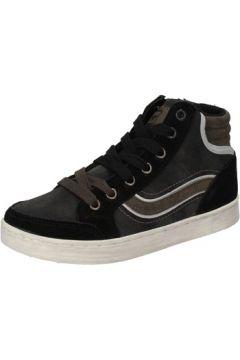 Chaussures enfant Blaike sneakers noir daim gris cuir AD700(115394077)