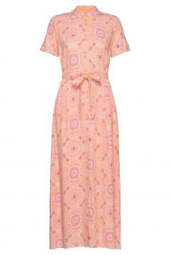 Jessy Vissa Dress Ss Maxikleid Partykleid Pink MOS MOSH(115556463)