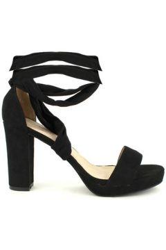 Sandales Cendriyon Sandales Noir Chaussures Femme(127849229)