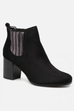 Divine Factory - QL3428 - Stiefeletten & Boots für Damen / schwarz(111575945)