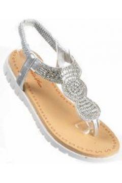Pantofelek24.pl | Damskie sandały japonki SREBRNE(112082340)