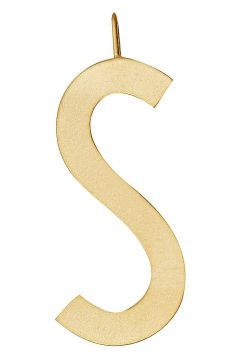 Archetypes 30 Mm, Gold, A-Z Halskette Schmuck Gold DESIGN LETTERS(109112363)