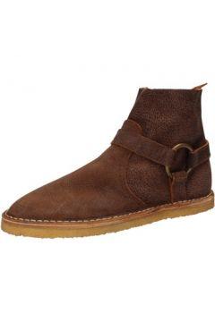 Boots Moma bottines marron cuir AD20(115393668)