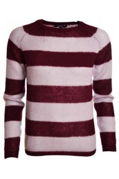 Pull Gant Pull gris et rouge Mohair pour femme(115387369)