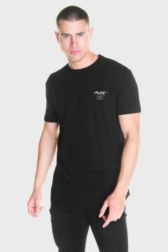 883 Police Black Stretch Mens Designer T-Shirts(117512358)