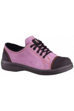 Chaussures Lemaitre BASKET DE SECURITE FEMME VITAMINE BAS ROSE(115600658)