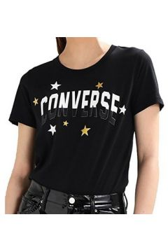 T-shirt Converse CLASSIC FIT NERA(115477477)