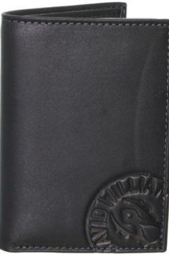 Portefeuille David William Porte-cartes en cuir ref_lhc37145-noir(115555410)