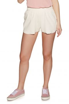SWELL Geenie Ribbed Short Damen Shorts - White(100264863)
