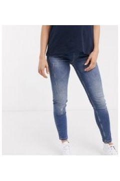 GeBe Maternity - Jeans skinny sopra il pancione blu lavaggio chiaro(123920384)