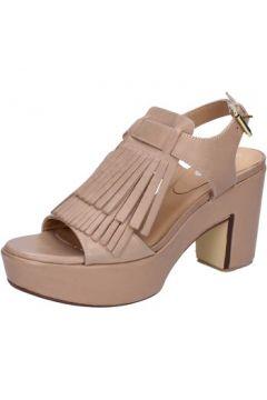Sandales Shocks sandales marron cuir BY403(115401134)