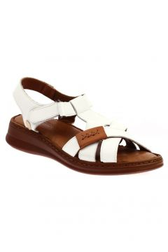 Messimod Beyaz Kadın Sandalet(110968150)