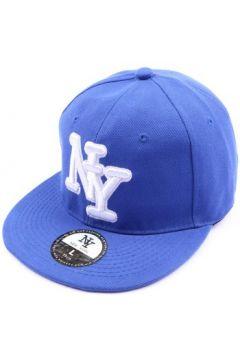 Casquette Hip Hop Honour Casquette fitted Bleue(115396356)