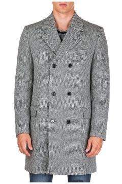 Men's double breasted coat overcoat(124928220)