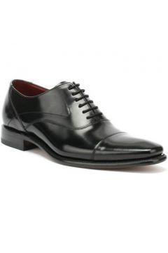 Chaussures Loake Sharp Hommes Chaussures Noir Cuir(115450348)