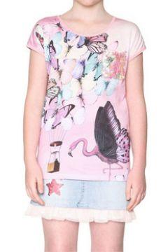 T-shirt enfant Desigual 18SGTKA4(115494702)
