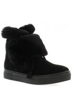 Bottes neige Exit Boots cuir velours(127909172)