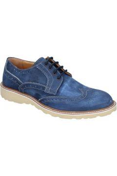 Chaussures Evc élégantes bleu nabuk BS07(98485415)