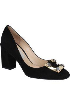 Chaussures escarpins Gianni Marra escarpins noir daim BX78(115442481)