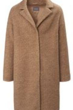 Mantel mit Reverskragen und uninahmen Zickzackmuster Basler brown-beige(122153179)