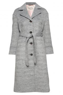 Lengthy Beaut Coat Wollmantel Mantel Grau ODD MOLLY(114155629)