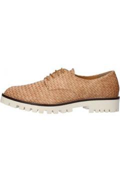 Chaussures Olga Rubini élégantes marron cuir AF95(115478860)