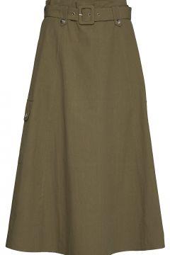 Adalinegz Skirt Ms20 Knielanges Kleid Grün GESTUZ(109112842)
