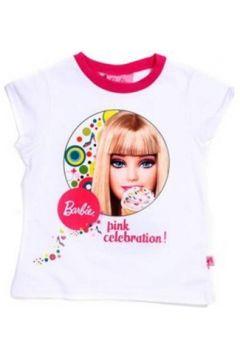 T-shirt enfant Barbie 22160 Tricot avec les manches courtes fille BLANC 20(115588001)