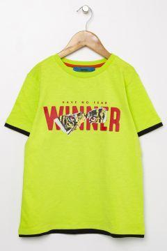 Funky Rocks Yeşil T-Shirt(113994487)