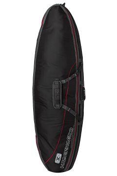 Ocean and Earth Double Compact Shortboard Surfboard Bag - Black(110360082)