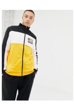 Penn - Sport - Schwarze Trainingsjacke mit Logoprint auf der Rückseite - Schwarz(83084986)