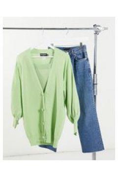Heartbreak - Cardigan oversize verde salvia in coordinato(123405912)