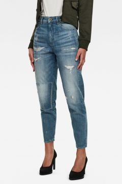 G-Star RAW Women Janeh Ultra High Mom Ankle Jeans Light blue(117927237)