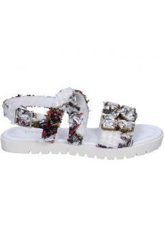 Sandales Ioannis sandales blanc textile strass BT873(115442951)