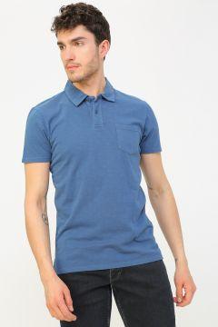 Aeropostale İndigo Polo T-Shirt(113996042)