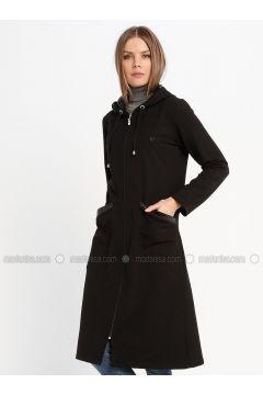 Black - Unlined - Topcoat - Sementa(110336947)