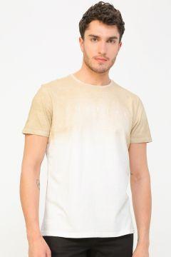 Aeropostale Bej T-Shirt(113995326)
