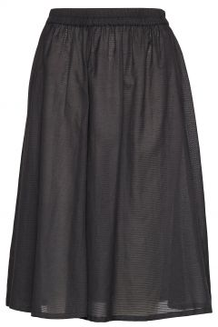 Diana Skirt Knielanges Kleid Schwarz NUÉ NOTES(114164165)