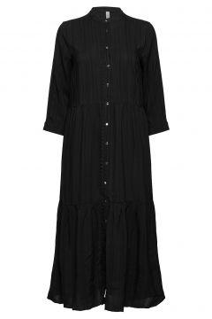 Cuadelaine Maxi Dress Maxikleid Partykleid Schwarz CULTURE(118485494)