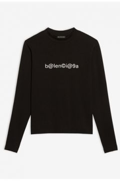Balenciaga Erkek Siyah Logo Baskılı T-shirt XS EU(114438778)