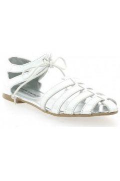 Sandales Ippon Vintage Nu pieds cuir laminé(127908518)
